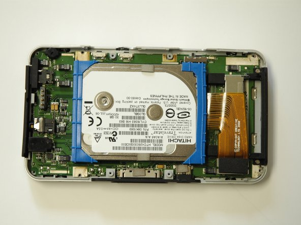 Creative Zen Vision W Hard Drive Replacement