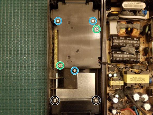 Remove PH2 screws