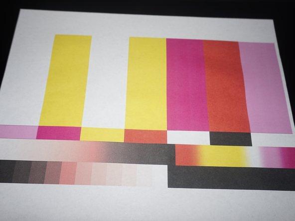 HP Photosmart Plus B210a Printhead Cleaning (Gentle)