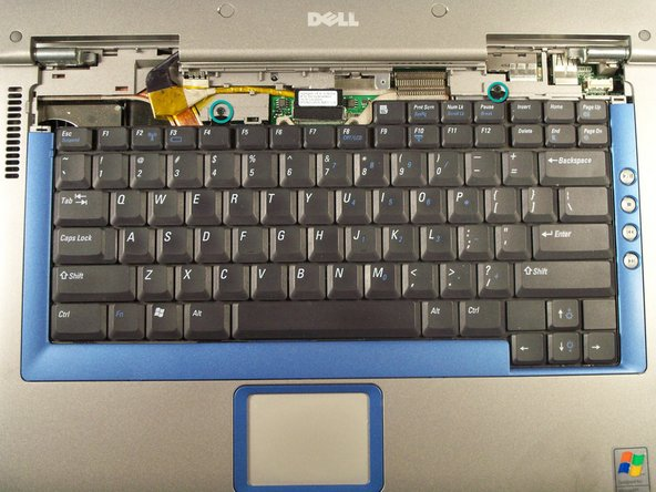 Dell Inspiron 8600 Keyboard Replacement