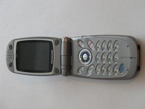 Disassembling Panasonic GU87 Main-LCD