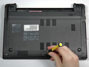 Acer Chromebook C710-2847 Back Cover Replacement
