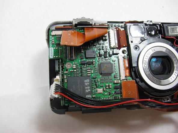 Canon PowerShot S50 Left Motherboard Replacement