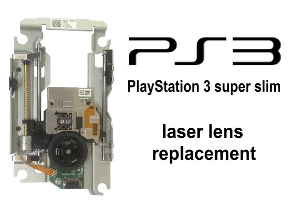 PlayStation 3 Super Slim Laser Lens Replacement