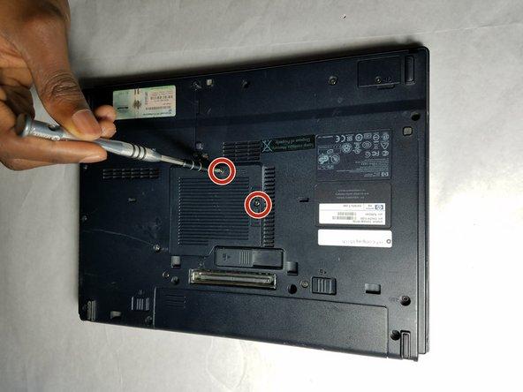 HP Compaq 6510b RAM Replacement