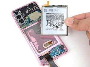 Remplacement de la batterie du Samsung Galaxy S20
