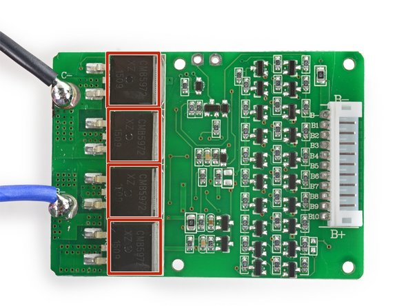 Speaking of the protection board: this is a Shenzen Dalishen Technology DDJ10A9.