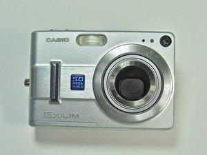Casio Exilim EX Z55 Troubleshooting