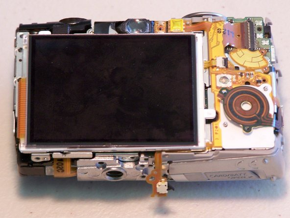 Canon PowerShot SD850 IS LCD Screen Replacement
