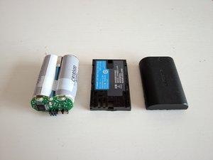 Canon LP-E6 battery pack Teardown