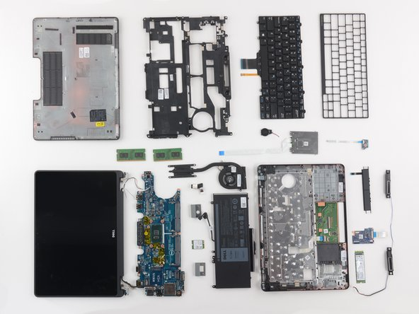 The Dell Latitude E5270 earns a 10 out of 10 on our repairability scale (10 is the easiest to repair):