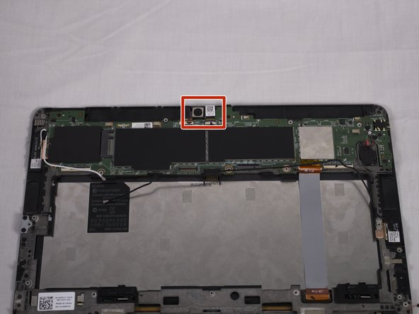 Now turn your attention to the two ZIF connectors at the top. The left ribbon cable connects to the webcam, the right ribbon cable connects to the back camera.