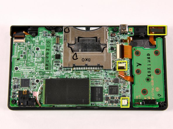 Removing the battery PCB is a pretty straightforward procedure: