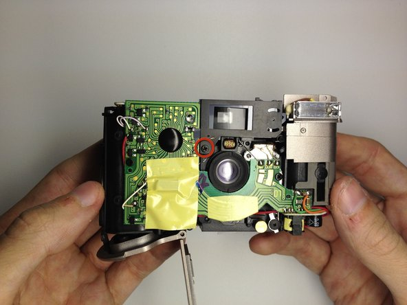 Disassembling Kodak Advantix F350 View Finder