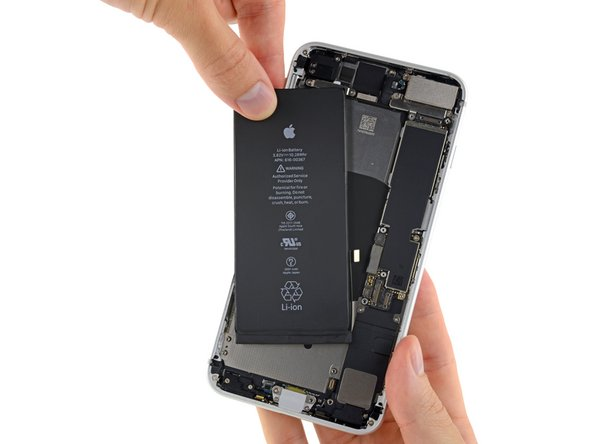 Remplacement de la batterie de l'iPhone 8 Plus