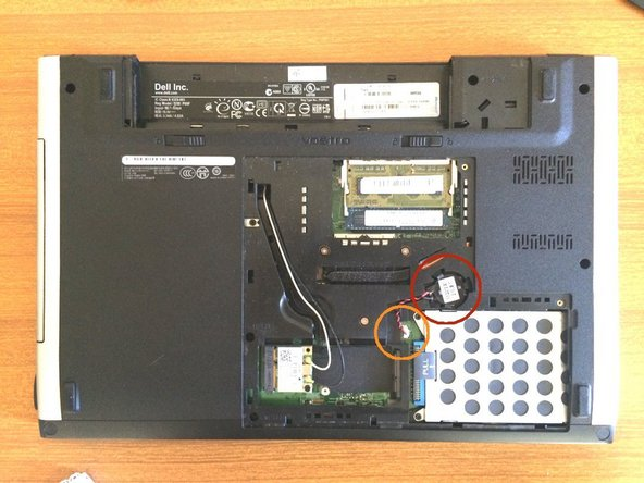 Dell Vostro 3500 CMOS Battery Replacement