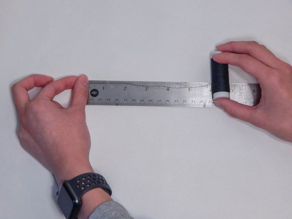 Gather thread that is 3 to 4 times the length of the part that needs to be sewn. Measure 18 inches of thread and double it.