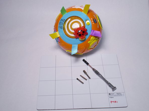 Vtech Move and Crawl Ball Battery Replacement