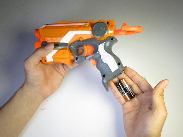 Nerf N-Strike Firestrike Battery Replacement