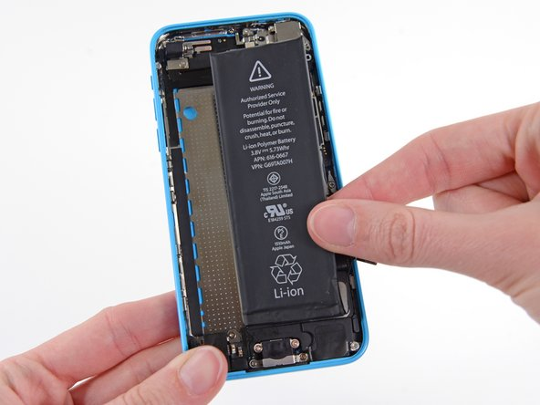 Remove the battery from your iPhone.