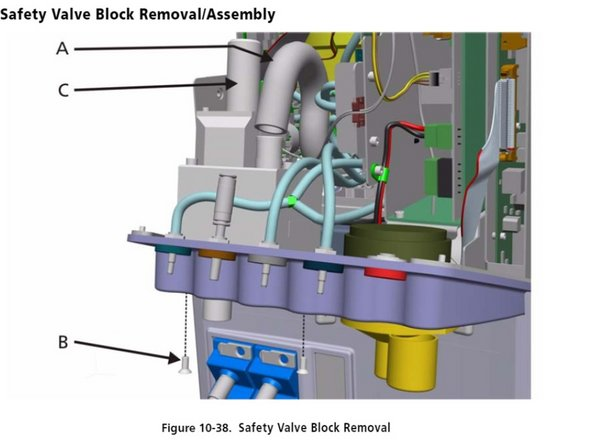 Hamilton G5 Safety Valve Block Replacement