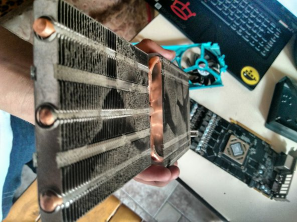 This is good time to clean the heatsink if it's dirty