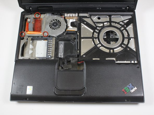 IBM ThinkPad T30 Fan Assembly Replacement