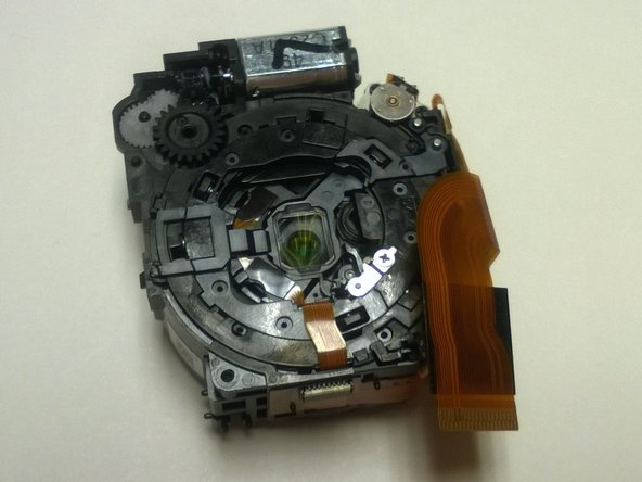 Nikon Coolpix S6300 Zoom Lens Gears