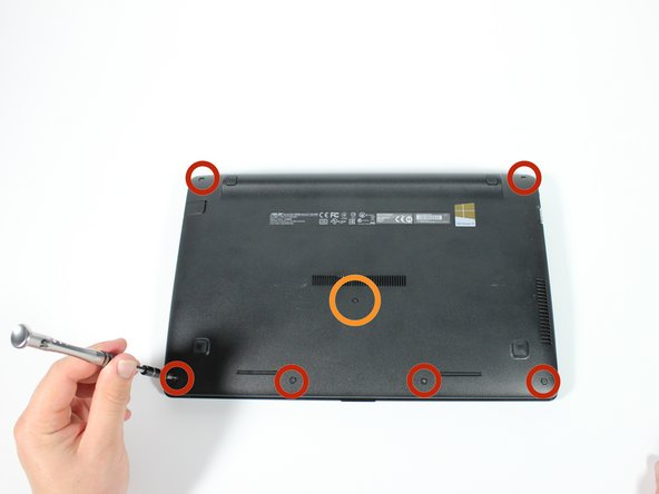 Asus X200MA Keyboard Assembly Replacement