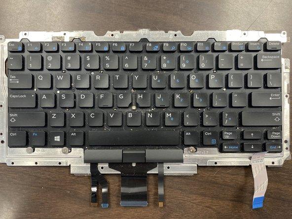 Dell Latitude E7470 Keyboard Replacement