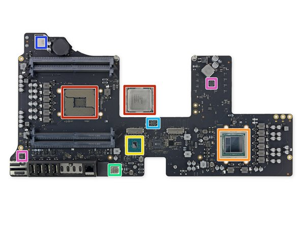 We've cleared the board, and it's time for a rundown of the silicon: