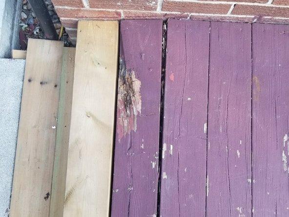 Wooden Deck Floorboard Replacement