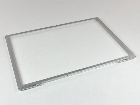 """PowerBook G4 Aluminum 15"""" 1.5-1.67 GHz Front Display Bezel Replacement"""