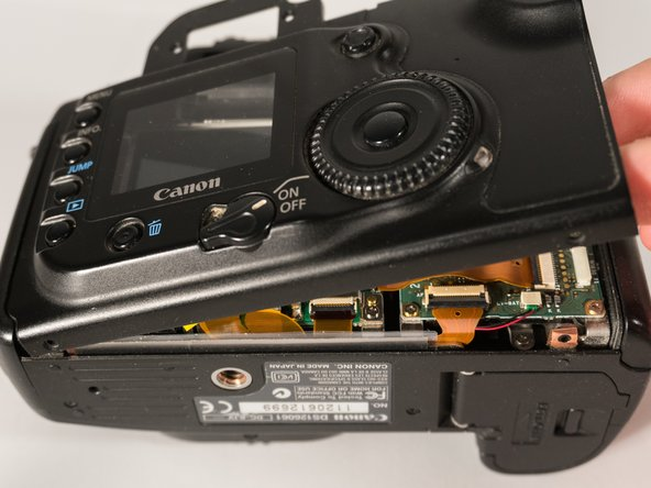 Canon EOS 20D Rear Case Replacement