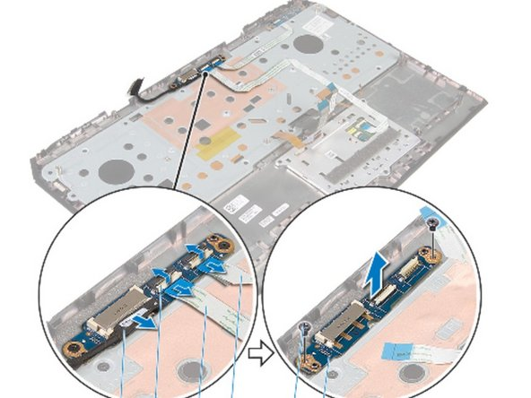 Alienware 17 R2 Power-Button Board Replacement
