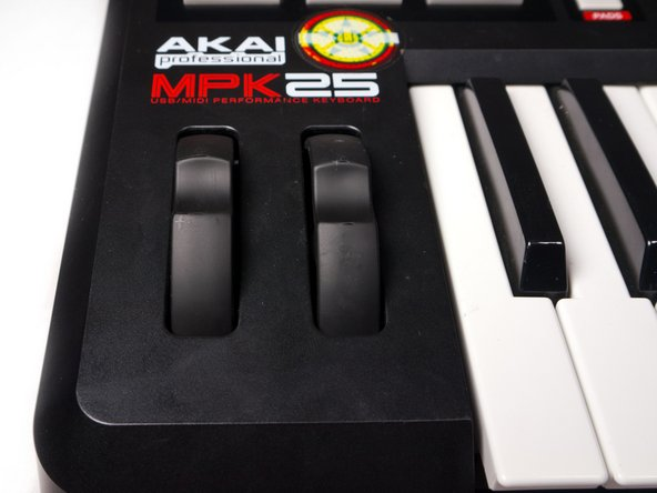 Akai MPK25 Volume Knob / Pitch Bender Replacement