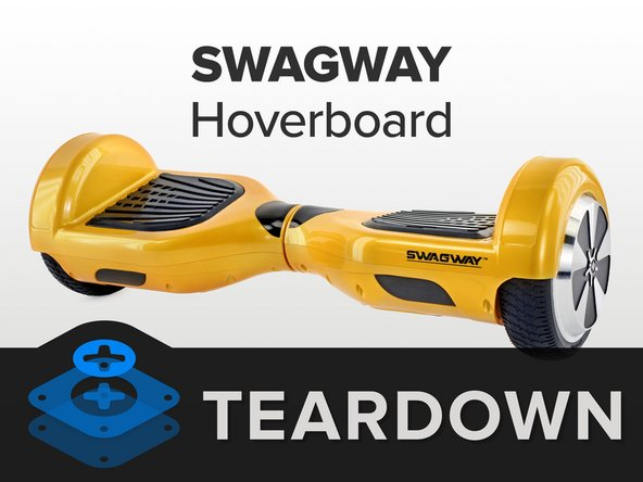 Swagway Repairability Score: 8 out of 10 (10 is easiest to repair).