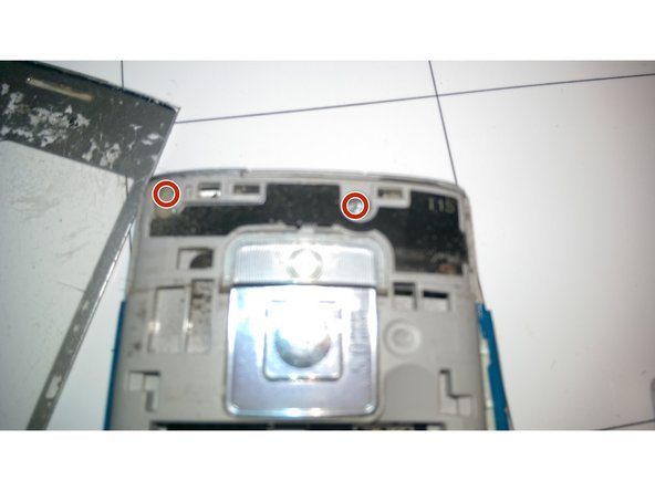 remove these 2 TR6 Screws (mine were a bit blue)