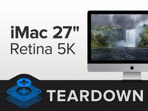 Разбираем 27-дюймовый iMac с дисплеем Retina 5K