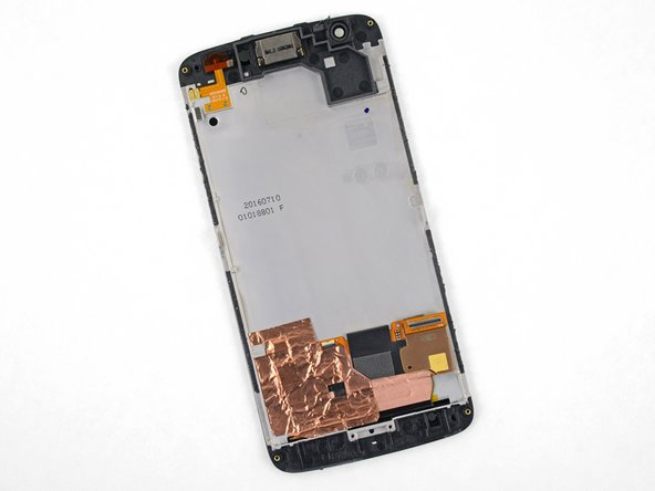 Motorola Moto Z Force Droid LCD Screen and Digitizer Assembly Replacement