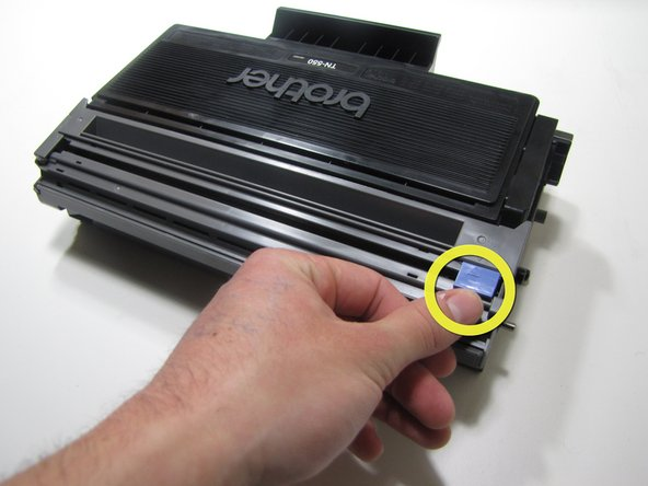 How to clean the Brother HL-5240 corona wire