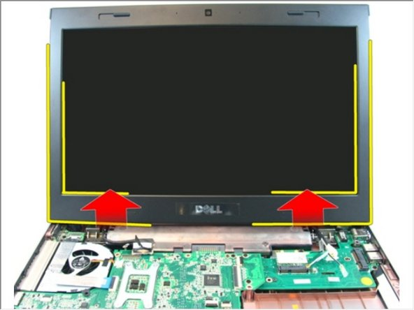 Lift the display assembly and remove it from the computer.