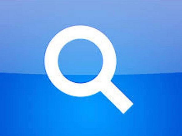 Open Up Spotlight Search On Your Mac Laptop By Clicking the Magnifying Glass In The Upper Right Corner of Your Mac Menu Bar