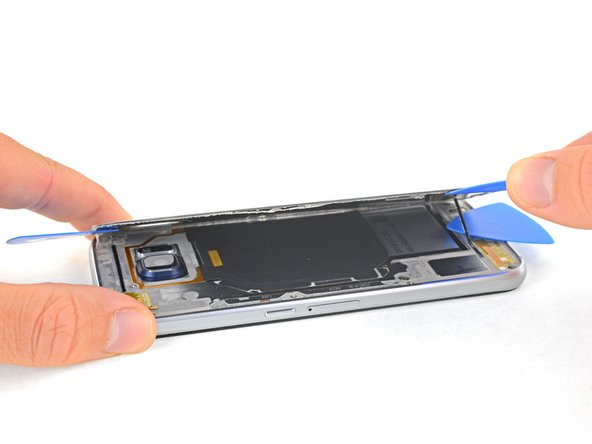 Samsung Galaxy S6 Edge Rear Glass Replacement