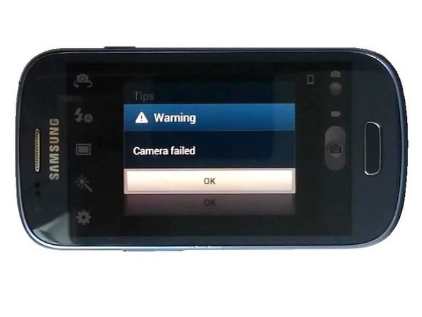 Samsung Galaxy SIII Mini Camera Failed Troubleshooting