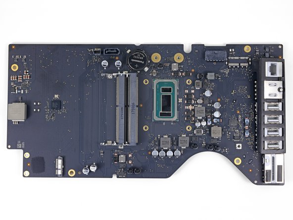 Only the logic board remains.