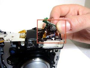 Canon Löwe Shot A550 Blitzplatine austauschen