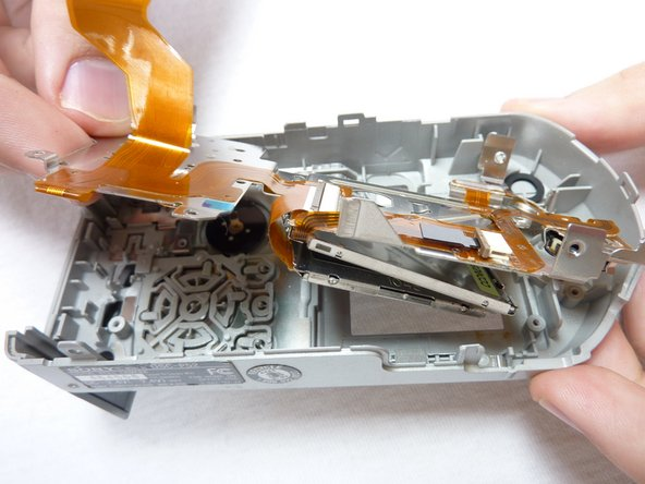 Remove the LCD plate, ribbon cables, and LCD display.