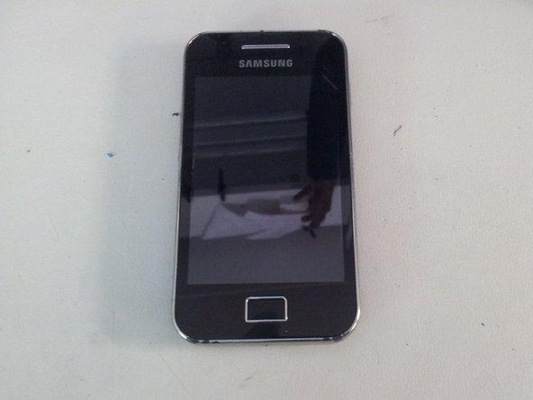 Disassembling Samsung Galaxy Ace Logic Board