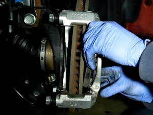 Front Brake Pads and Rotor